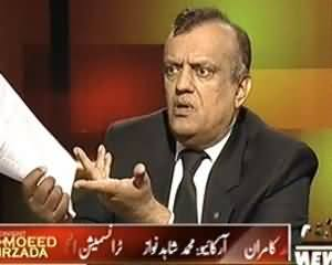 Tonight With Moeed Pirzada (Dehshat Gardoon Ke Liye Naya Qanoon Jari) – 21st October 2013