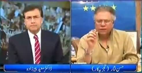 Tonight with Moeed Pirzada (Hassan Nisar Exclusive Interview) - 8th July 2016