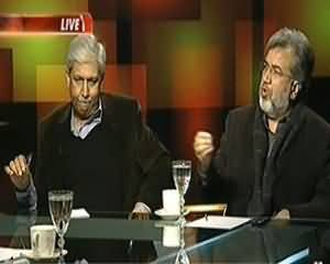 Tonight With Moeed Pirzada (Kya USA Drones Band Karne Ke Liye Razi Hojaye Ga?) - 9th December 2013
