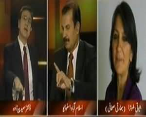 Tonight With Moeed Pirzada (Nawaz Manmohan Mulaqaat Se Pehle Hamla, Kya Message Dia Gia?) - 26th September 2013