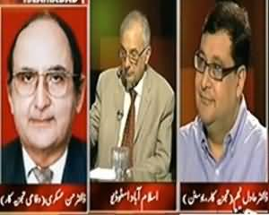 Tonight With Moeed Pirzada (Nawaz Sharif Mutalbaat Manwane Main Kamyab Honge?) - 23rd October 2013