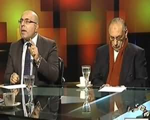 Tonight With Moeed Pirzada (North Wazirastan Mein Kasheedagi) - 1st January 2014