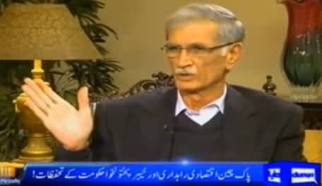 Tonight With Moeed Pirzada (Pervez Khattak Exclusive Interview) – 3rd January 2016