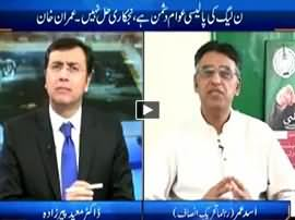 Tonight With Moeed Pirzada (PMLN Anti-Public Policy) - 5th February 2016