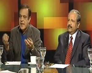 Tonight With Moeed Pirzada (PTI Ki Lahore Main Mehengai Ke Khilaf Rally) - 23rd December 2013