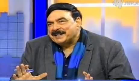 Tonight With Moeed Pirzada (Sheikh Rasheed Ahmad Exclusive Interview) – 19th February 2016