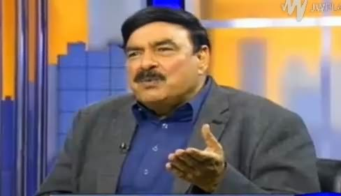 Tonight With Moeed Pirzada (Sheikh Rasheed Ahmad Exclusive Interview) – 26th March 2016