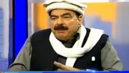 Tonight With Moeed Pirzada (Sheikh Rasheed Exclusive Interview) – 15th January 2016