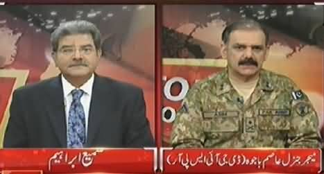 Top Story (DG ISPR Asim Bajwa Exclusive Interview About Operation) – 15th July 2014