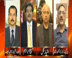 Top Story (Pakistan Ki Mukhafat Ke Baad Bhi Drone Hamle Jari?) - 1st November 2013