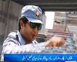 Traffic Warden Complete His First Video Song During Duty - Will Be Released Soon