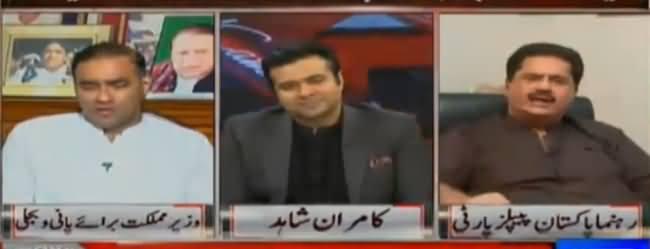 Tu Bhi Almas Bobby Na Ban - Fight Between Nabil Gabol And Abid Sher Ali