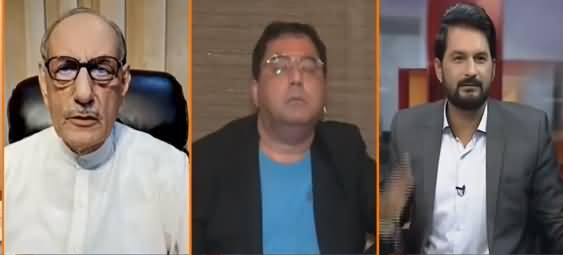 Tum Ne Sabir Shakir Ka Naam Nahi Lia, Magar Shaitan Ka Kaam Kia - Gen (R) Amjad Shoaib Says to Anchor