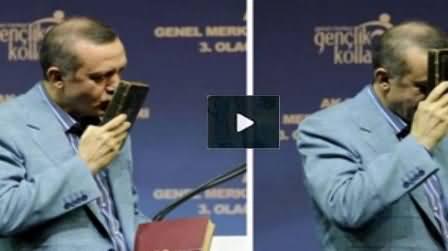 Turkish PM Tayyip Erdogan Reciting Quran Shareef in Very Beautiful Voice
