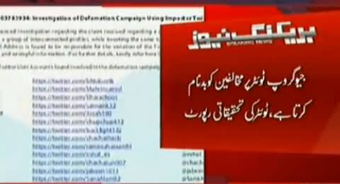 Twitter Issued the List of Geo Accounts Using For Maligning Opponents, A Cyber Crime By Geo