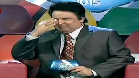 Umar Sharif Crosses The Limits of Chamcha Giri & Salutes Abid Sher Ali in Live Show