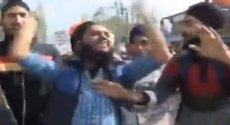 Unbelievable: Sikh Chanting Kashmir Bane Ga Pakistan, Must Watch