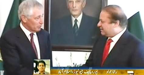 Unblock NATO Supply, Otherwise We will Suspend Your Aid, US Defence Minister Threatens Nawaz Sharif