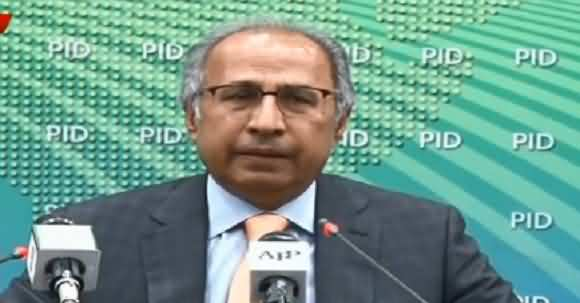 Up to 73 Percent Current Account Deficit Decreased In One Year - Hafeez Sheikh Announced Good News To Nation
