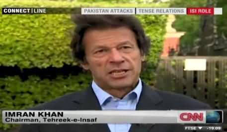 US Money is Curse for Us - Imran Khan Blasting Reply to American Channel CNN, This is How a Leader Talk