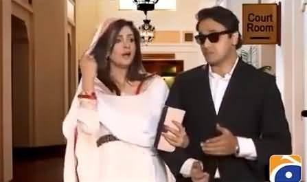 Veena Malik and Her Husband Asad Bashir Parody After Marriage