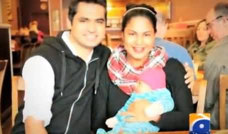 Veena Malik's Son Abram Khan Khattak Getting Popular on Twitter - Watch Special Report