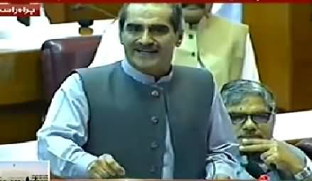 Very Funny Dubbing of Khawaja Saad Rafique Speech in National Assembly
