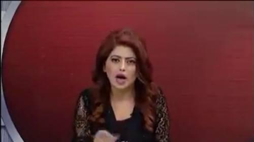 Vote Ko Nahi Phelay Apni Biwi Ko Izzat Do - Anchor Fiza Khan thrashes Sharif Family and PMLN leaders