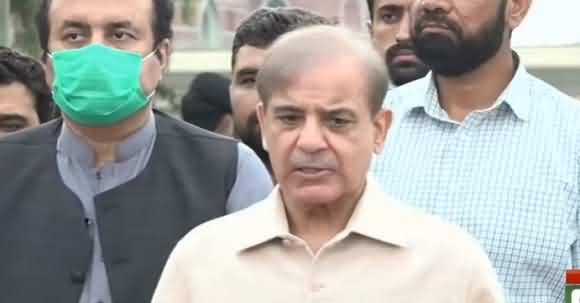 Wafaq Ki Taraf Se Karachi Selab Per Siasat Ki Gai - Shehbaz Sharif Briefs Media About His Recent Visit Of Karachi