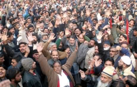 WAPDA Employees Strike & Protest Against Expected Privatization of WAPDA