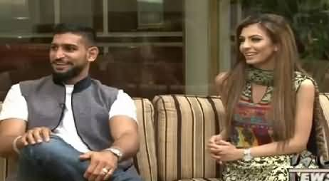 Waqt Special (Boxer Amir Khan And His Wife Exclusive Interview) – 2nd August 2015