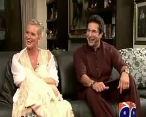 Waseem Akram And Shaniera Akram Exclusive Interview [REPEAT] – 12th September 2015