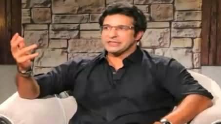 Waseem Akram Expressing His Views About Shoaib Akhtar And Shahid Afiridi