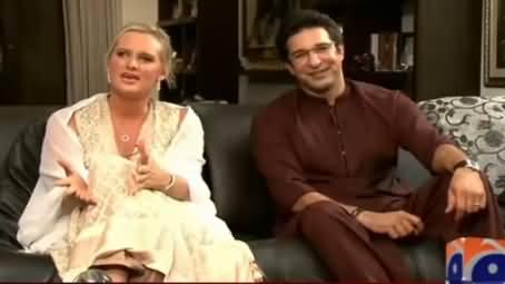 Waseem Akram's Wife Shaniera Akram Gives Special Message to Pakistanis in Urdu