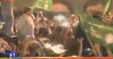 Waseem Badami And Sami Ibrahim Making Fun of Abid Sher Ali in Rally
