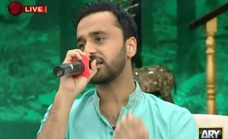 Waseem Badami Singing