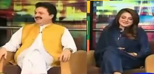 Wasey Chaudhry And Ajmal Wazeer Khan Grilled Maiza Hameed