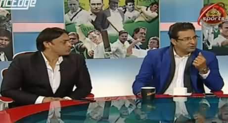 Wasim Akram And Shoaib Akhtar Making fun of Mohammad Hafeez Captaincy