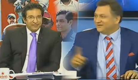 Wasim Akram's Message For Shahid Afridi For Appearing in PTV Show