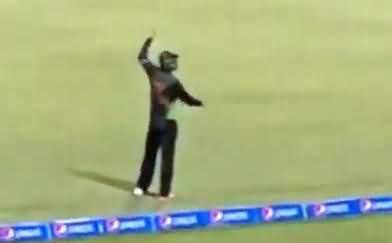 Watch Ahmad Shahzad's Reaction on Selfie Selfie Chant By Audience in Ground