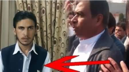 Watch Another Video Proof Who Was Involved in Peshawar Protest Against Imran Khan
