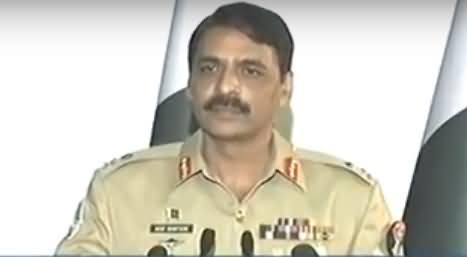 Watch DG ISPR Gen Asif Ghafoor Response on Pervez Musharraf Statement