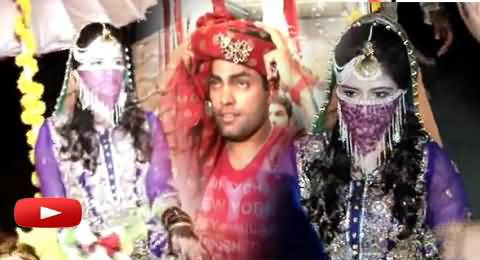 Watch Different Styles of Umar Akmal's Bride Noor Fatema