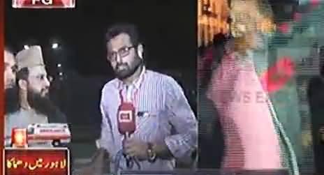 Watch Eyewitness Veiws on Mall Road Bomb Blast Lahore