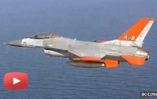 Watch First Fligh of F-16 Drone - an UnManned F-16 Flight