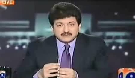 Watch Hamid Mir Refuting His Own Statement After PTI Jalsa At Minar e Pakistan Lahore