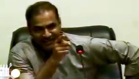 Watch How Abid Sher Ali Cracking Jokes & Enjoying Sehri With Journalists
