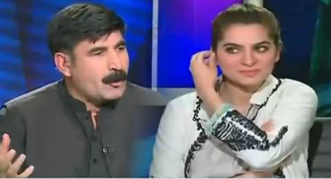 Watch How Akhunzada Chattan Unable to Answer Question About Zardari's Statement