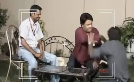 Watch How Comedian Umar Sharif Slapped A Man During His Interview