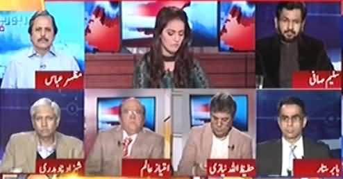 Watch How Imtiaz Alam Defending Increase in Salaries of Parliament Members